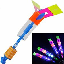 10 pc Amazing Arrow Helicopter Flying Rocket Outdoor Party Supply - US Seller