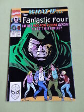 WHAT IF FANTASTIC FOUR - MARVEL COMIC USA - OCT 1990 -VOL2  #18 - VG