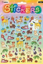 STICKERS Dogs Cats Bird Bunny Lizard Turtle value craft school Teacher