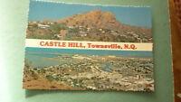 OLD AUSTRALIAN POSTCARD 1970s TOWNSVILLE QUEENSLAND, CASTLE HILL