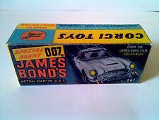 Boîte copie repro Corgi Toys 261 james bond aston martin DB5 ( reproduction box