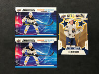 2019-20 UD CREDENTIALS VICTOR OLOFSSON LOT OF 3 ROOKIE SCIENCE x2 + STAR NIGHT