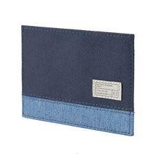 $25 HEX ASPECT BLUE NAVY CARD WALLET