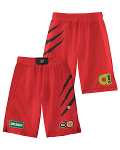 Perth Wildcats 20/21 Youth Authentic Home Shorts, NBL Basketball