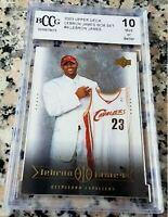 LEBRON JAMES 2003 Upper Deck SP #1 Draft Pick Rookie Card RC BGS BCCG 10 Lakers