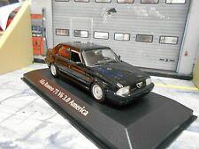 ALFA ROMEO 75 V6 3.0 America Limousine 1987 schwarz Minichamps Maxichamps 1:43