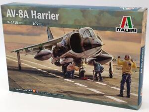 Italeri 1/72 Scale Model Kit 1410 - Hawker Siddeley AV-8A Harrier