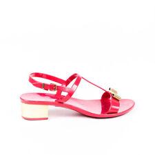 Salvatore Ferragamo Vara Bow Rubber Sandals SZ 7