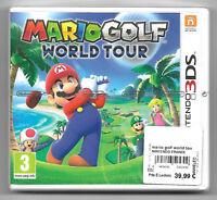 MARIO GOLF WORLD TOUR Neuf sous blister Jeu Nintendo 3DS