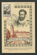 FRANCE MK 1946 JOURNEE TIMBRE LA VARANE MAXIMUMKARTE MAXIMUM CARD MC CM d7258