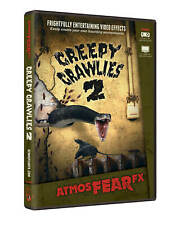AtmosFX Halloween Beamer Projektions DVD Creepy Crawlies Screamstore Exklusiv