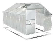 BRAST Aluminium 250x430cm Gewächshaus mit Stahlfundament