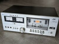 JVC KD-15 Stereo Cassette Deck in Good Retro Vintage Condition