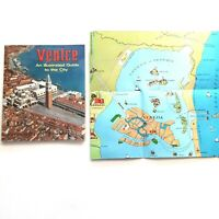 Venice: an Illustrated Guide to the City and Fold Out Venice Map, Vintage
