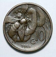 10 CENTESIMI APE 1928  RAME  BUONO STATO DI CONSERVAZIONE