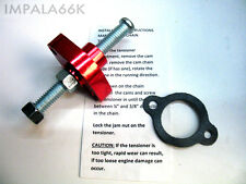 RED MANUAL CAM CHAIN TENSIONER 2003-2012 SUZUKI LT-Z400 LTZ400 LTZ 400 T13