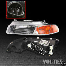 1995-2000 Chrysler Cirrus Dodge Stratus Headlight Lamp Clear lens Halogen Left