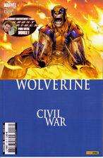 Panini Comics   SERVAL   WOLVERINE  V1    N° 158     Jan09
