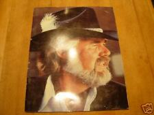 Kenny Rogers Concert Program 1981 all color 22 pages