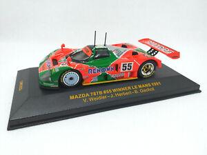 IXO 1:43 - LMC023 Mazda 787B #55 Winner Le Mans 1991 Weidler Herbert Gachot