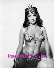"GINA LOLLOBRIGIDA 8X10 Lab Photo 1959 ""SOLOMON & SHEBA"" Sexy Headdress Portrait"
