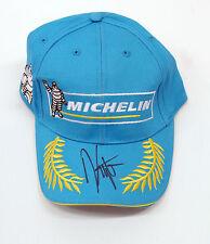 Kenny ROBERTS SIGNED CAP Racing LEGEND Photo AFTAL COA Autograph USA, Michelin