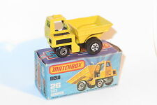 vintage Matchbox lesney near mint boxed NMIB 26 site dumper truck