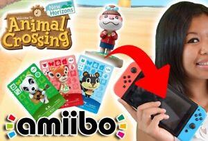 Carte Villageois Animal Crossing Nintendo Switch (Amiibo NFC) [Lire description]