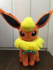 Giant 35inches Flareon Life Plush Doll Eevee Pokemon Center Toy Original RARE