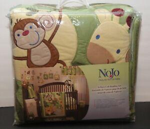 NoJo Safari Jungle Babies 9 Piece Nursery Set