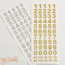 Birthday & Occasions Unbranded Gold Scrapbooking Stickers