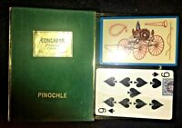 VINTAGE CONGRESS PINOCHLE CEL-U-TONE FINISH 1940 AUTOMOBILE SET BRAND NEW N.O.S.