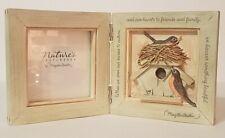 New ListingMarjolein Bastin Hallmark Natures Sketchbook Desk Frame - Bird Nest with Robins