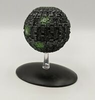 Eaglemoss Star Trek # 10 BORG SPHERE Ship w/ BOX No Magazine Voyager