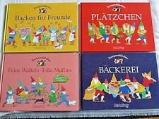4 x Zwergenstübchen Backbücher: Bäckerei-Plätzchen-Waffeln-Backen für Freunde-