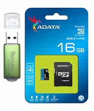 ADATA 16GB Micro SD XC SDXC Memory Card Class 10 For GO PRO HD Camcorder Hero4