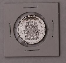 """1 X  2018  50 cents Canadian """"Half Dollar""""  Coat of Arms of Canada Uncirculated"""