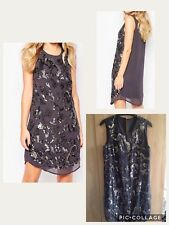 Y.A.S @ Asos embellished party salon Dress Sequined RRP £110.00 size 8 EU 36