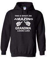 This Is What An Amazing Grandma Looks Like HOODIE Sweatshirt Sweater Hooded