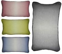 Mason Gray - Ombre Watercolour Rectangular Filled Cushions