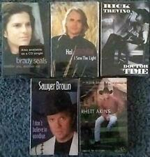 5 Vintage 1990s Country Cassette Singles New Sealed Trevino Seals Ketchum Brown