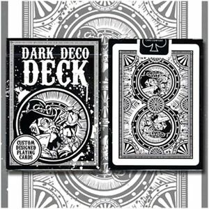Brand New Playing Cards - Dark Deco Deck by US Playing Card
