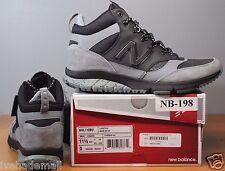 New Balance Mens Sz 11.5 Burton HVL 710 BU Black Grey HVL710BU Sneakerboot