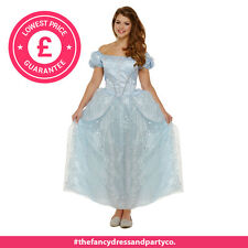 Donne Adulti Cinderella Fiabe Principessa Fata Book Week Day Costume