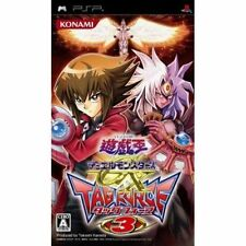 Used PSP  Yu-Gi-Oh! Duel Monsters GX Tag Force 3 SONY PLAYSTATION JAPAN IMPORT
