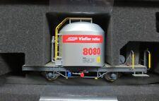 BEMO 9452 130/9452130 RhB Uce 8080 Zementsilowagen mit rotem Band Spur 0m NEU