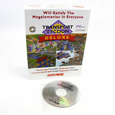 Transport Tycoon Deluxe for PC CD-ROM in Big Box by MicroProse, 1996