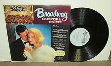 101 STRINGS Broadway Cocktail Party, original Somerset vinyl LP, 1961, VG+