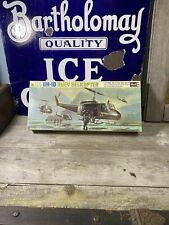 ! Revell Bell Uh-1D Huey Helicopter 1/32 Scale Model Kit 1969 Please Read