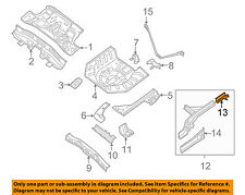 NISSAN OEM 07-12 Sentra Floor-REAR BODY-Side Rail Extension Right 75520ET030
